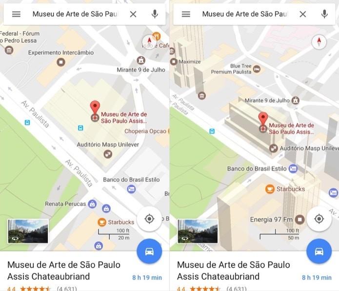 9d43d0e82b261 Como ver o mapa do Google Maps em 3D no Android e iPhone   Dicas e ...