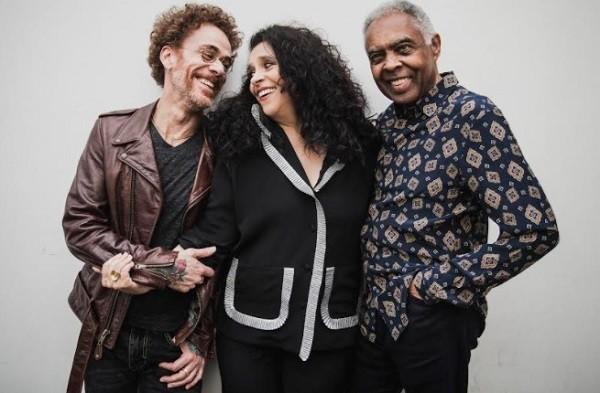 Nando Reis, Gal e Gil vão estrear o show Trinca de ases em São Paulo no dia 4 de agosto, no Citibank Hall (Foto: Divulgação)