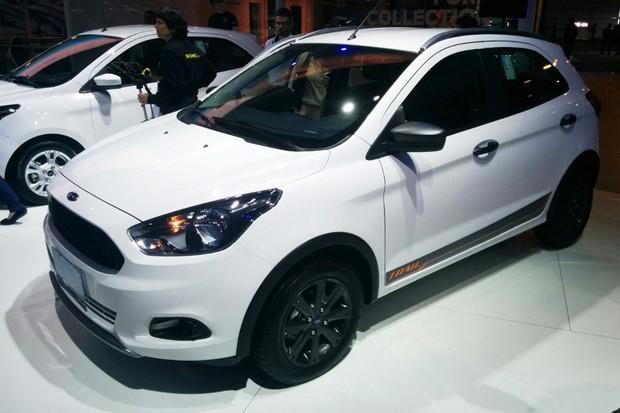 Ford Ka Facelift >> Sem mudanças no visual, Ford Ka e Ka+ ficam mais caros na linha 2018 - AUTO ESPORTE | Notícias