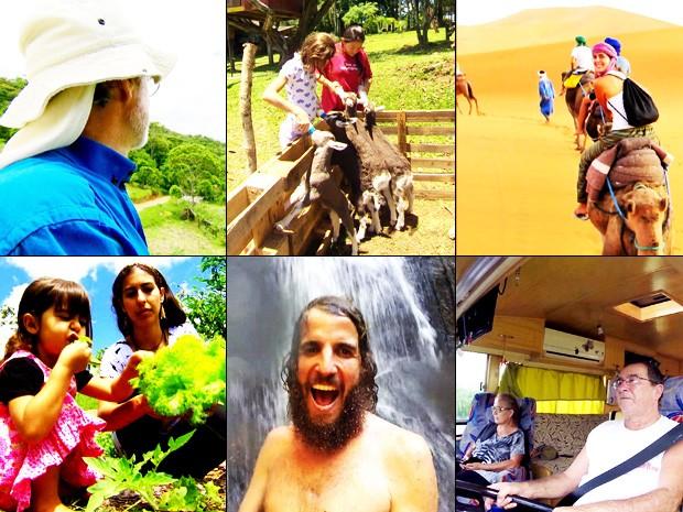 Globo Repórter mostra pessoas que descobriram como viver com menos  (Foto: TV Globo)