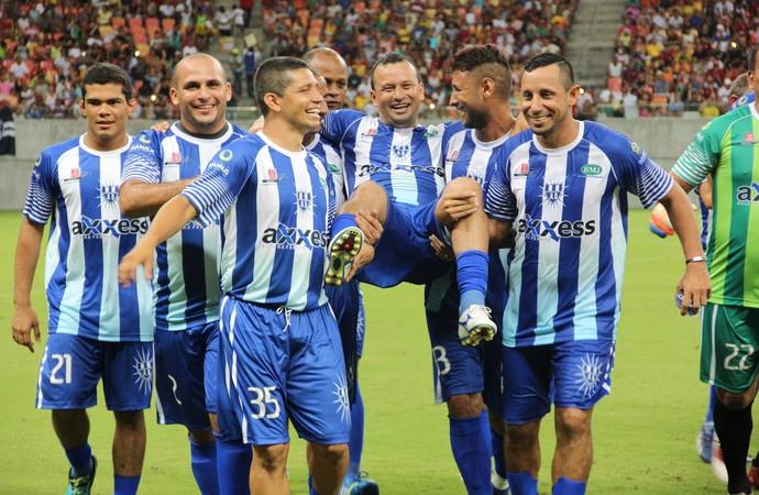Amigos do Aldo x Amigos do Delmo (Foto: Isabella Pina)