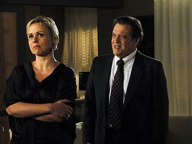 """Dimas vai confrontar Laura para saber a verdade: """"Você não tinha esse direito!"""" (Foto: Amor Eterno Amor / TV Globo)"""