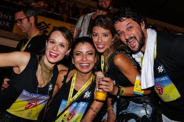 Mariana Ximenes, Anna Lima, Roberta Fernandes e Marcelo Serrado (Foto: Regis Motisuki/ Divulgação)