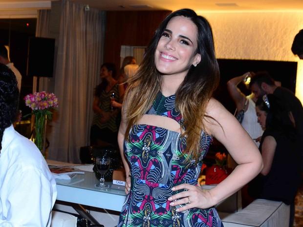 Wanessa em festa em São Paulo (Foto: Leo Franco/ Ag. News)