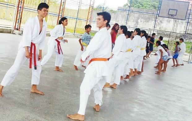 Karate Shokotan Manaus Amazonas (Foto: Divulgação/Sejel)