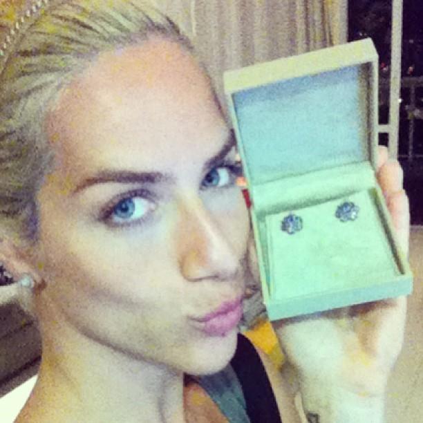 Giovanna recebe o parabéns de Pinny Montoro (Foto: Reprodução/Instagram)