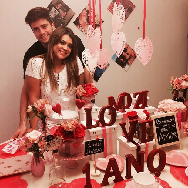 Preta Gil e o noivo, Rodrigo Godoy, comemoram um ano de namoro (Foto: Reprodução/Instagram)