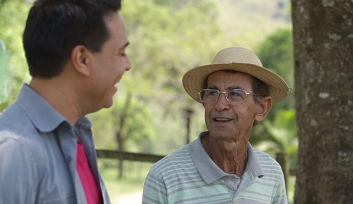 Marcelo Honorato conheceu personagens da Serra da Canastra (Foto: Divulgação | Tô Indo)