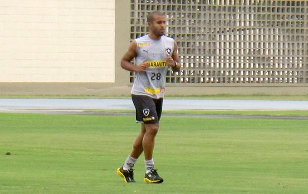 Julio Cesar treino Botafogo (Foto: Fred Huber)