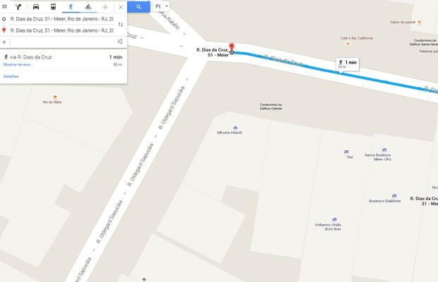 Juiz Paulo Sérgio Prestes dos Santos, da 2ª Câmara Cível do TJ-RJ, usa Google Maps para anular multa de trânsito de motorista. (Foto: Reprodução/Google)