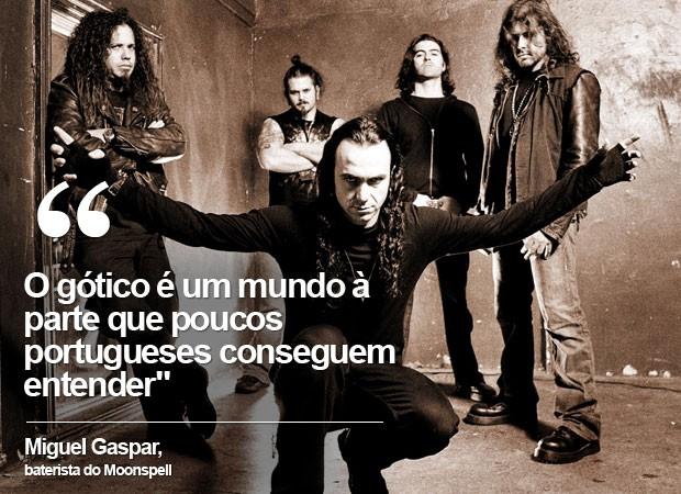 Moonspell (Foto: Divulgação / Facebook da banda)