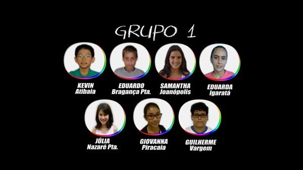 Tabuada_Grupo_1_Participantes (Foto: Tabuada_Grupo_1_Participantes)