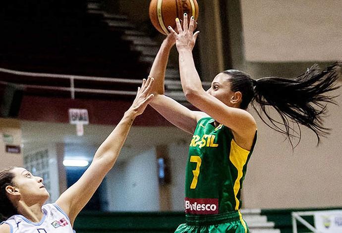 Patrícia Teixeira basquete feminino  (Foto: Samuel Vélez/FIBA Américas)