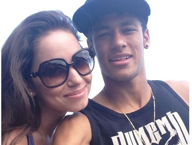 Neymar e a ex-bbb Juliana Goes (Foto: Reprodução / Instagram)