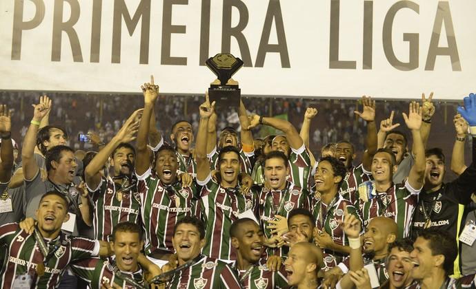 Fluminense - título Primeira Liga (Foto: André Durão)