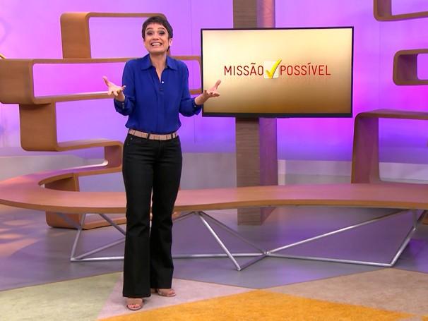 A Missão Possível da semana é recitar uma poesia para quem você ama (Foto: Globo)