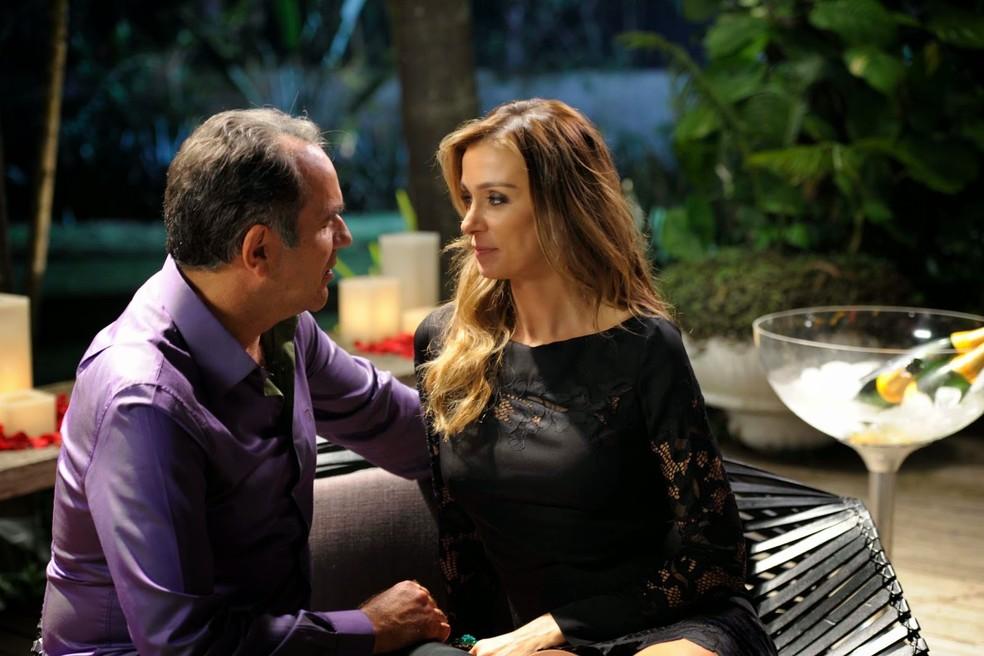 Humberto Martins e Mônica Martelli em 'Os homens são de Marte... e é pra lá que eu vou' (Foto: Divulgação)