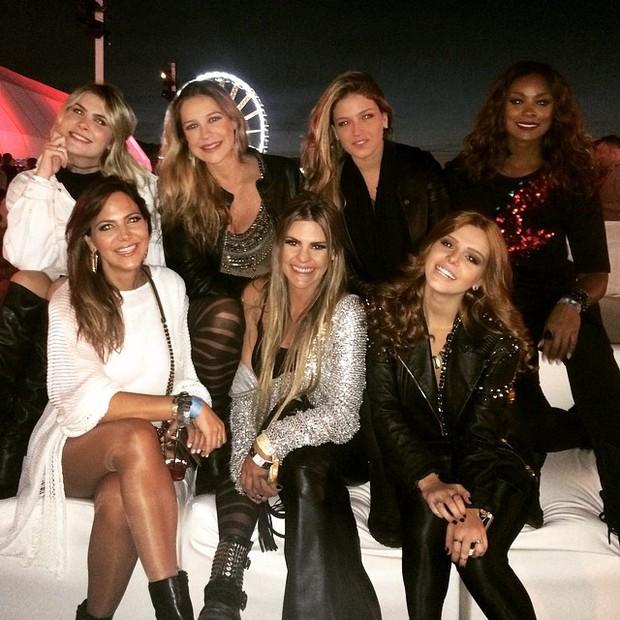 Famosos no Rock In Rio USA (Foto: Reprodução/Instagram)