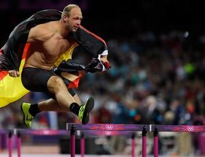 Robert Harting lançamento de disco olimpíadas 2012 (Foto: AP)