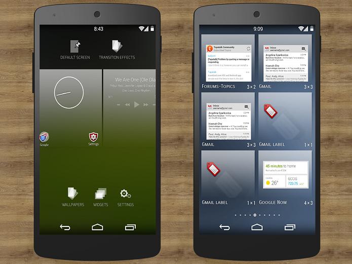 Blinq Lollipop Launcher é um aplicativo para personalizar o Android (Foto: Divulgação)
