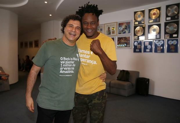 Frejat e Tony Garrido  (Foto: Marcos Serra Lima / Ego)