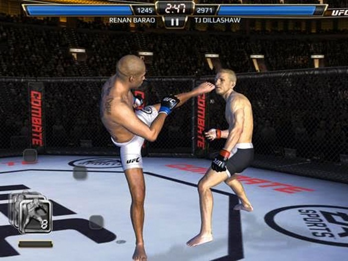 UFC Mobile terá parceria inédita com o Canal Combate (Foto: Divulgação)
