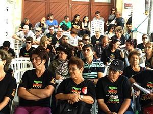 Servidores do INSS aprovaram indicativo para finalizar greve (Foto: Sindprevs/Divulgação)