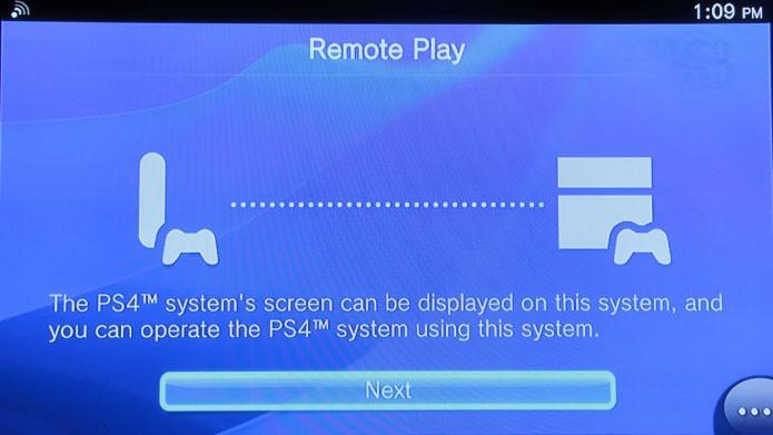 O Remote Play com o PS4 funciona perfeitamente (Foto: Tais Carvalho/TechTudo)
