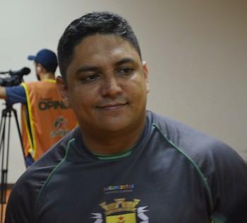 Pablo Simões, técnico do Galvez (Foto: Duaine Rodrigues)