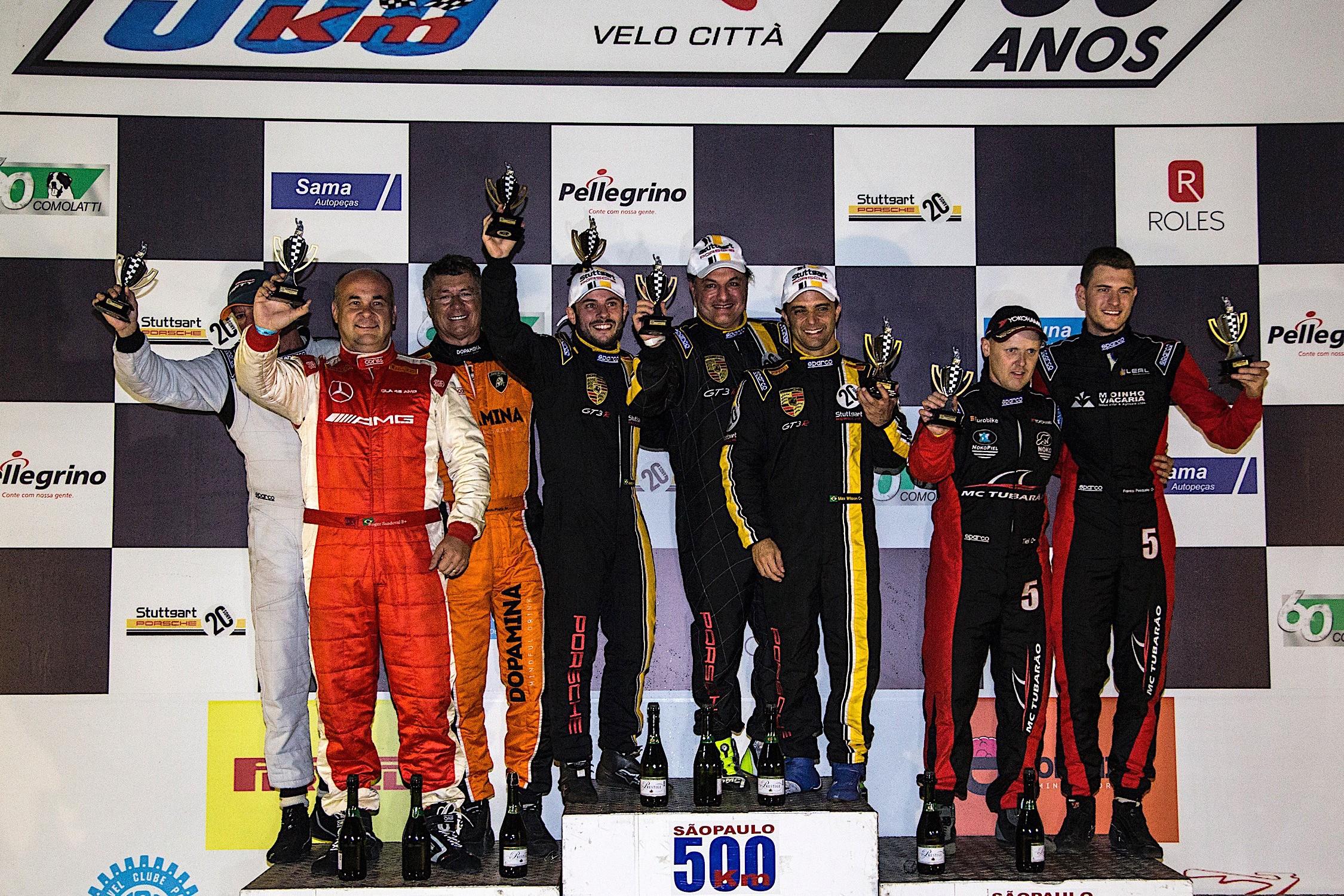 Resultado final dos 500 Km de São Paulo categoria GP1 (Foto: Bruno Terena)
