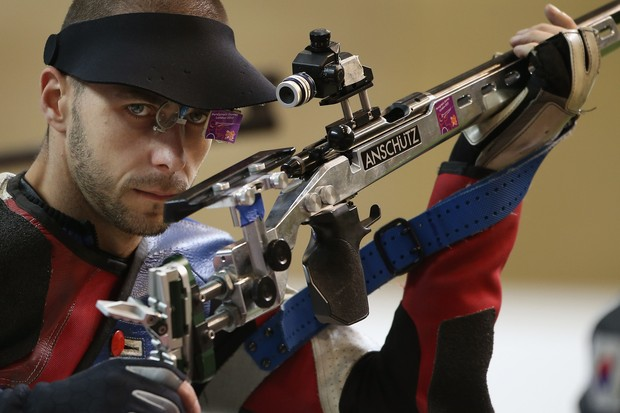 Tiro esportivo (Foto: Getty Images)