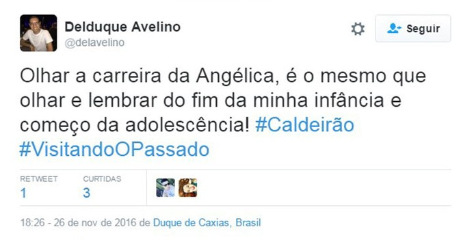 Comentário (Foto: Divulgação)