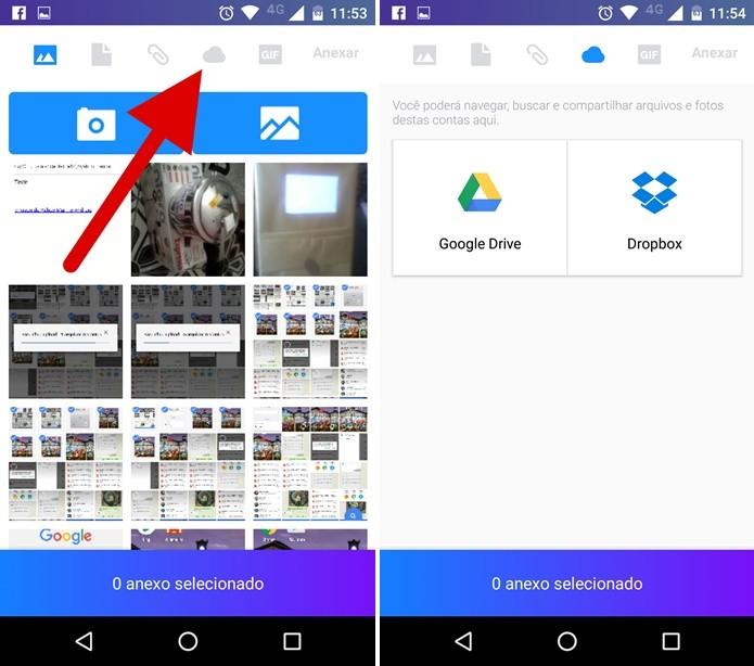 Yahoo! Mail: como enviar arquivos do Dropbox ou Google Drive em