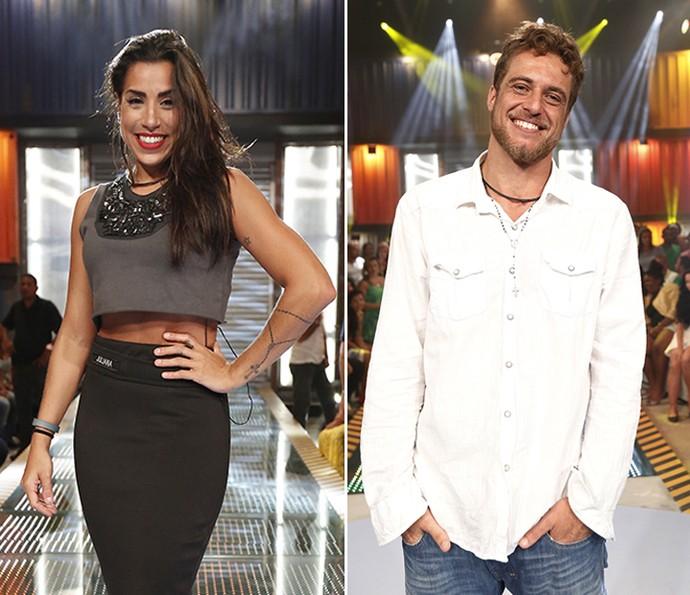 Juliana e Daniel dividem opiniões sobre brigas de Renan e Ana Paula (Foto: Raphael Dias / Camila Camacho / Gshow)