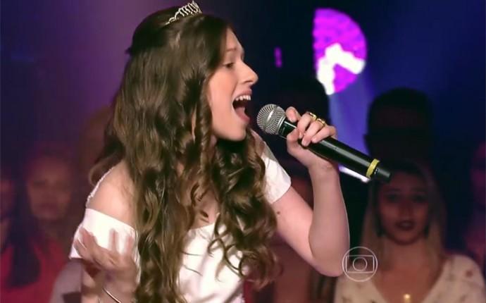 Catarina Estralioto The Voice Kids (Foto: Reprodução/ The Voice Kids)