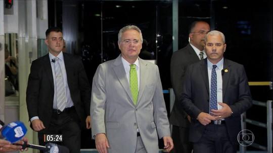 Renan Calheiros é afastado da presidência do Senado pelo STF
