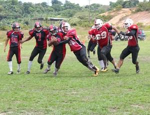Manaus Cavaliers e Amazon Black Hawks,  (Foto: Adeilson Albuquerque)