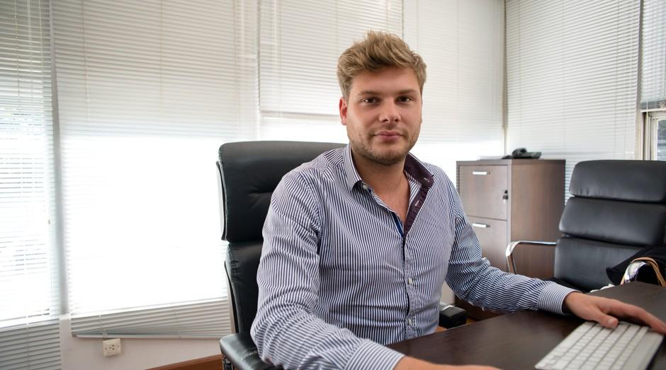 Charles-Henry Calfat, fundador e CEO do FemiTaxi (Foto: Divulgação)