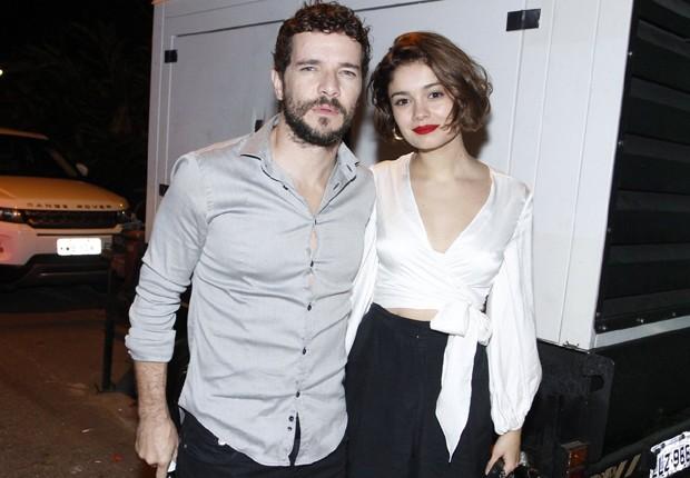 Daniel de Oliveira e Sophie Charlotte (Foto: Thyago Andrade/Brazil News)