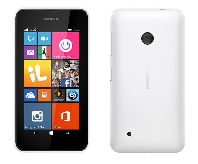 Lumia 530 conta com sistema operacional Windows Phone 8.1 (Foto: Divulgação/Microsoft)