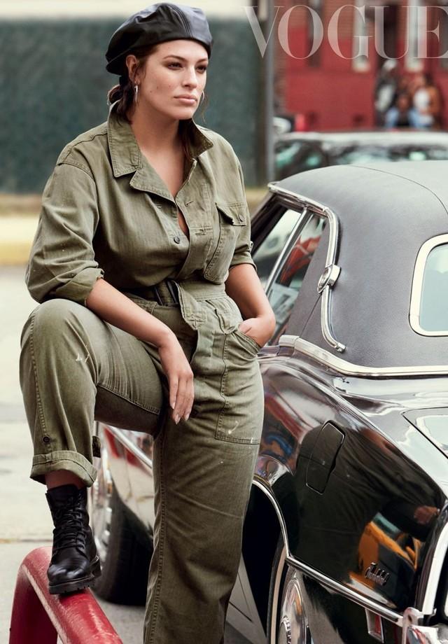 Ashley Graham  (Foto: Vogue UK)