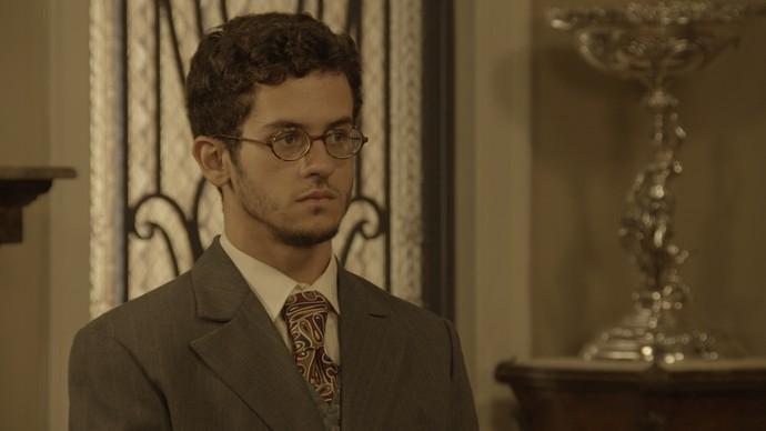Jack reaparece de surpresa na casa de Anastácia (Foto: TV Globo)