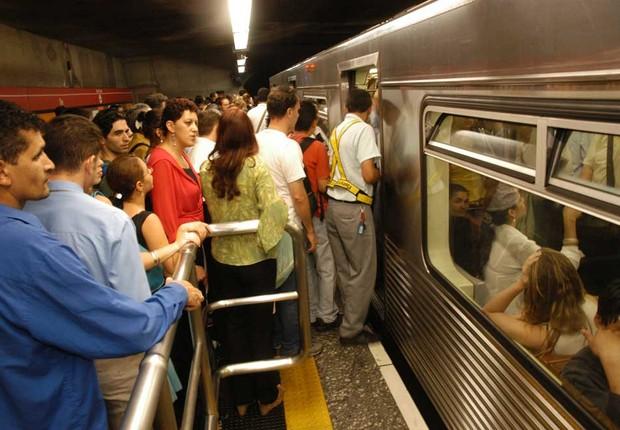 Metrô de São Paulo (Foto: Editora Globo)
