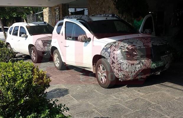 Novo Renault Duster flagrado (Foto: Rodolfo Perez Luiz/Autoesporte)