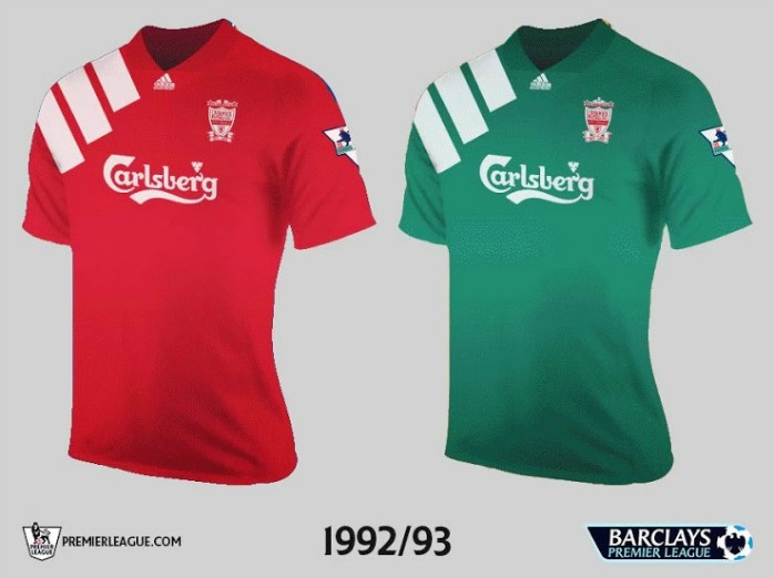 Liverpool Premier League Retrô