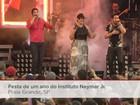 Festa do Instituto Neymar Jr. reúne mais de 5 mil pessoas e muita música