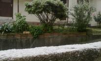 Serra do Rio Grande do Sul registra neve nesta quarta-feira (Divulgação/Raquel Jacoby Silveira/Prefeitura de Bom Jesus)
