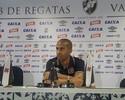 Julio Cesar vê Vasco encorpado e diz que time fica mais ligado contra Bahia