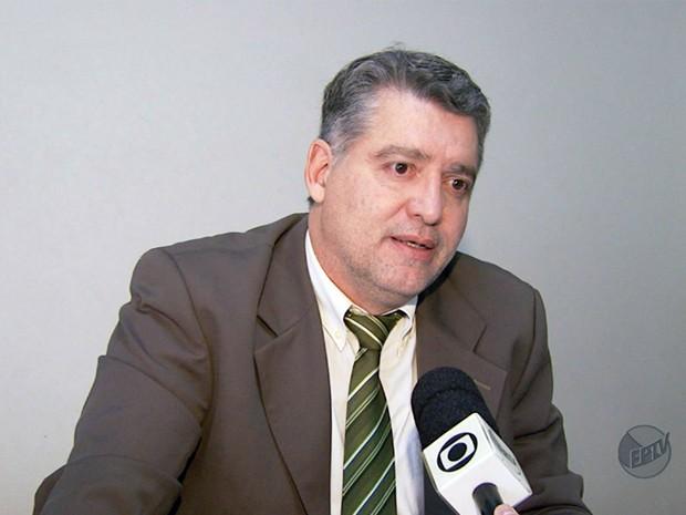 Juiz Narciso Alvarenga Monteiro de Castro fala sobre novidades no caso Pavesi. (Foto: Reprodução EPTV)