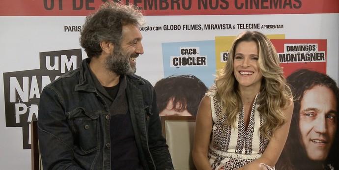 Domingos Montagner e Ingrid Guimarães estrelam filme (Foto: Se Liga VM)